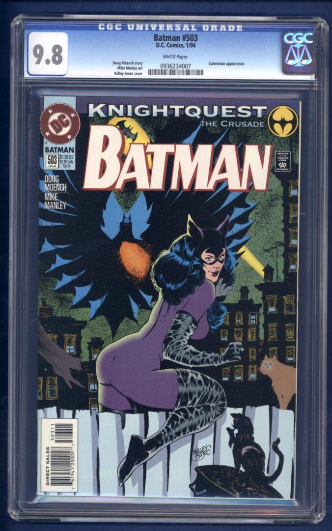 Batman 9 , CGC 9.9