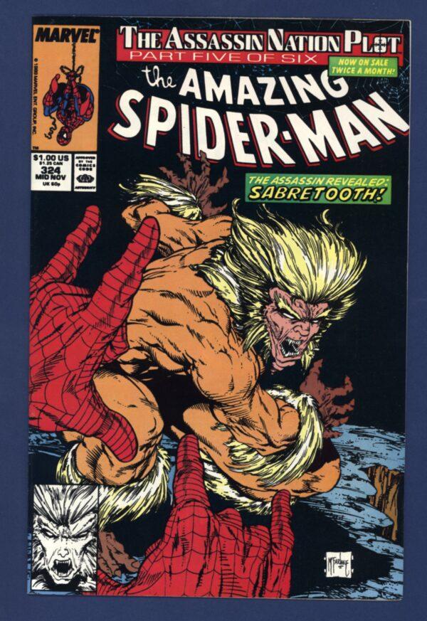 Amazing Spider-Man #324 VF