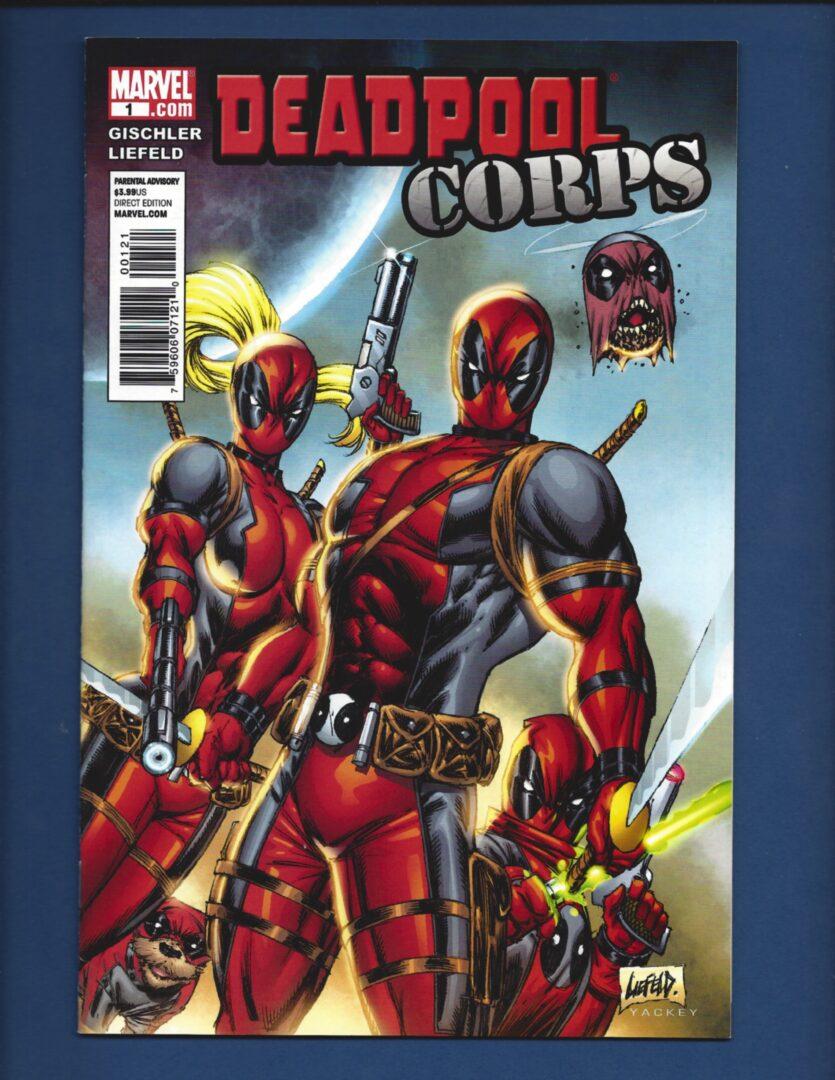 Deadpool #2A Bachalo Variant VF 2020 Stock Image