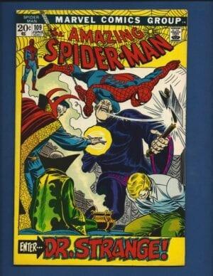 Amazing Spider-Man #109 VF-