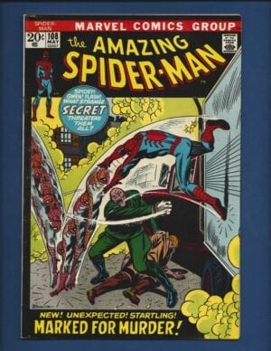 Amazing Spider-Man #104 VG/FN 1st Appearance of Sha Shan