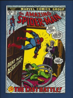 Amazing Spider-Man #115 FN+