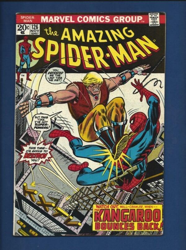 Amazing Spider-Man #126 FN+