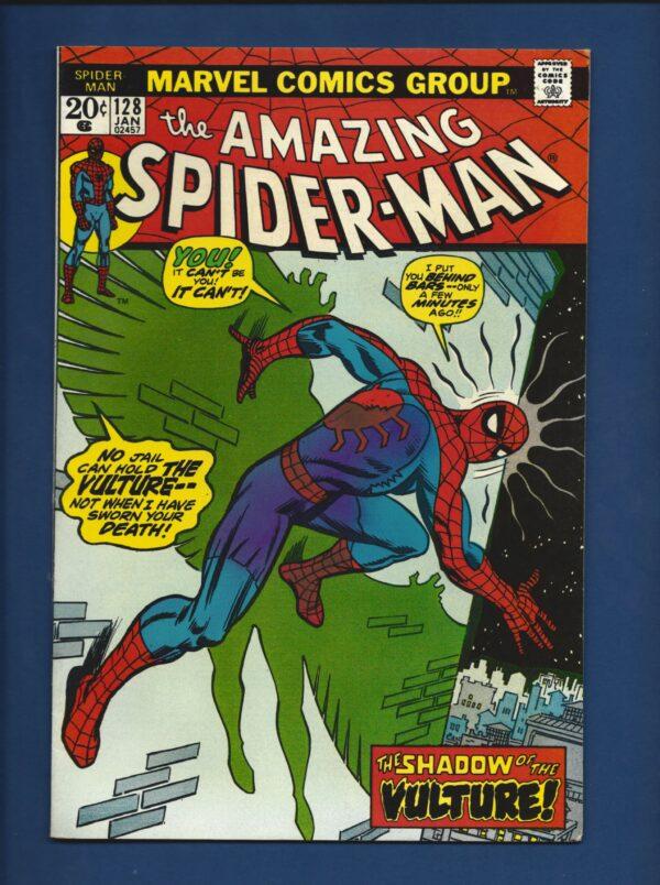 Amazing Spider-Man #128 VF-