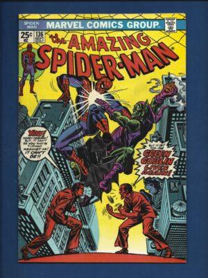 Amazing Spider-Man #136 FN- 1st Hary Osborn As Green Goblin