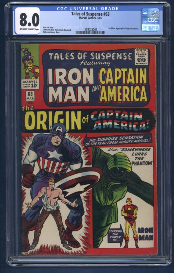 Tales of Suspense featuring Iron Man and Captain America