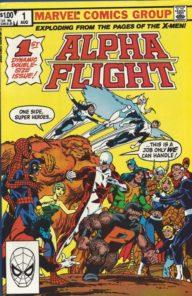 Alpha Flight (1983 1st Series)