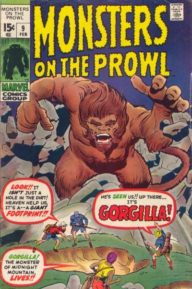 Monsters on the Prowl (1971 1st Series)