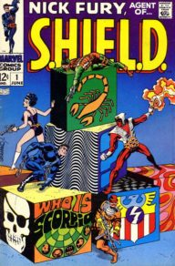 Nick Fury Agent of Shield (1968 1st Series)
