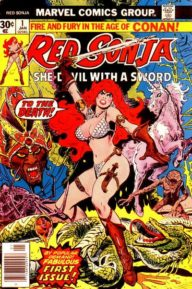 Red Sonja (1977 1st Series Marvel)
