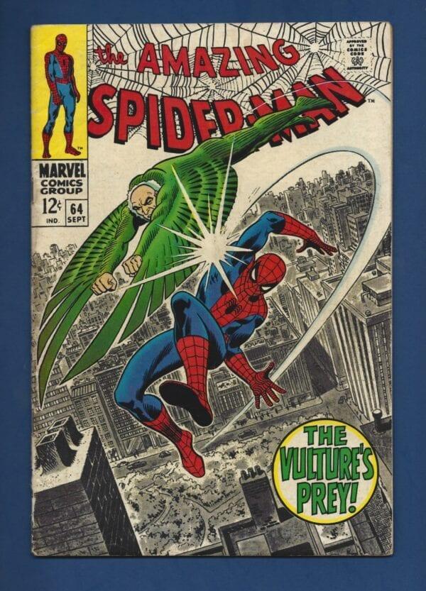 Amazing Spider-Man #64 VG-