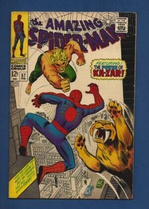 Amazing Spider-Man #57 VG-