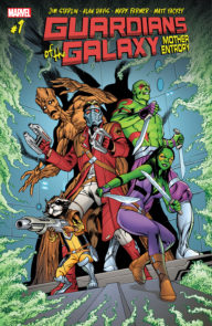 Guardians of the Galaxy Mother Entropy (2017 Marvel)
