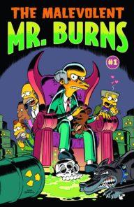 Malevolent Mr. Burns (Bongo Comics)