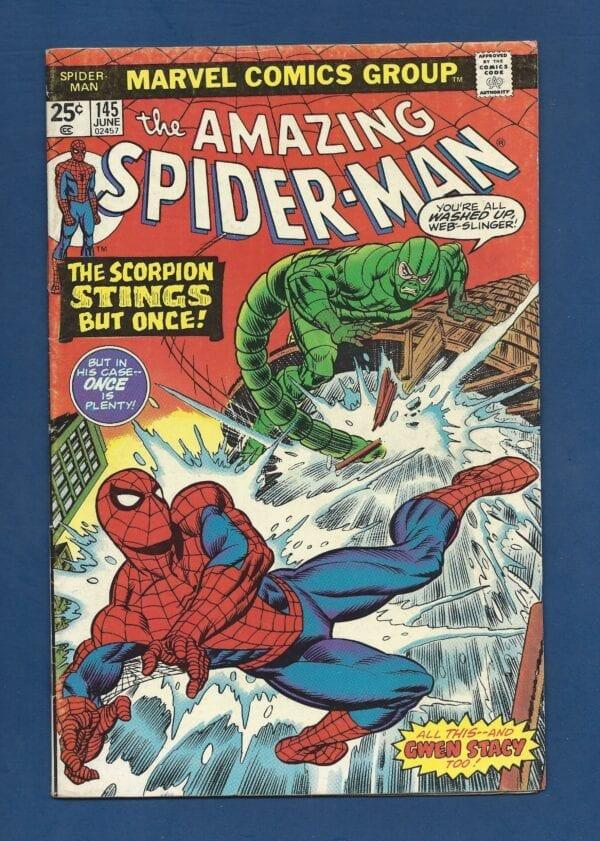 Amazing Spider-Man #145 VG/FN
