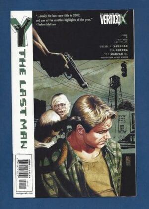 The Last Man comic