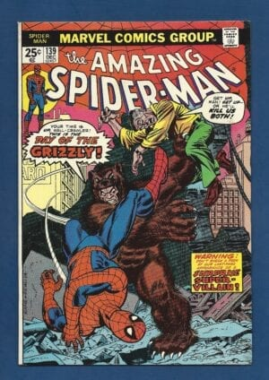 Amazing Spider-Man #139 FN+ 1st Appearance of The Grizzly