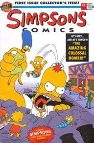 Simpsons Comics ( Bongo Comics)