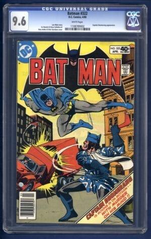 Batman #322 CGC 9.6