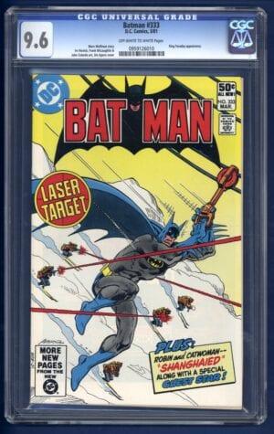 Batman #333 CGC 9.6