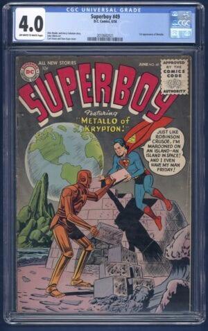Superboy #49