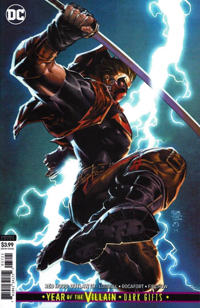Red Hood Outlaw 37 Cover B Nm Android S Amazing Comics