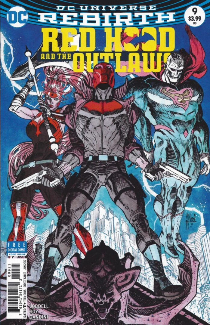Red Hood And The Outlaws 9 Cover B Vf Android S Amazing Comics