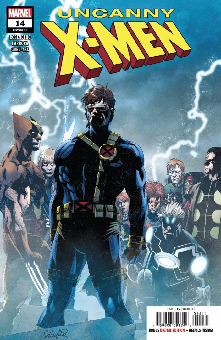 UNCANNY X-MEN 14 2019 1st PRINT NM