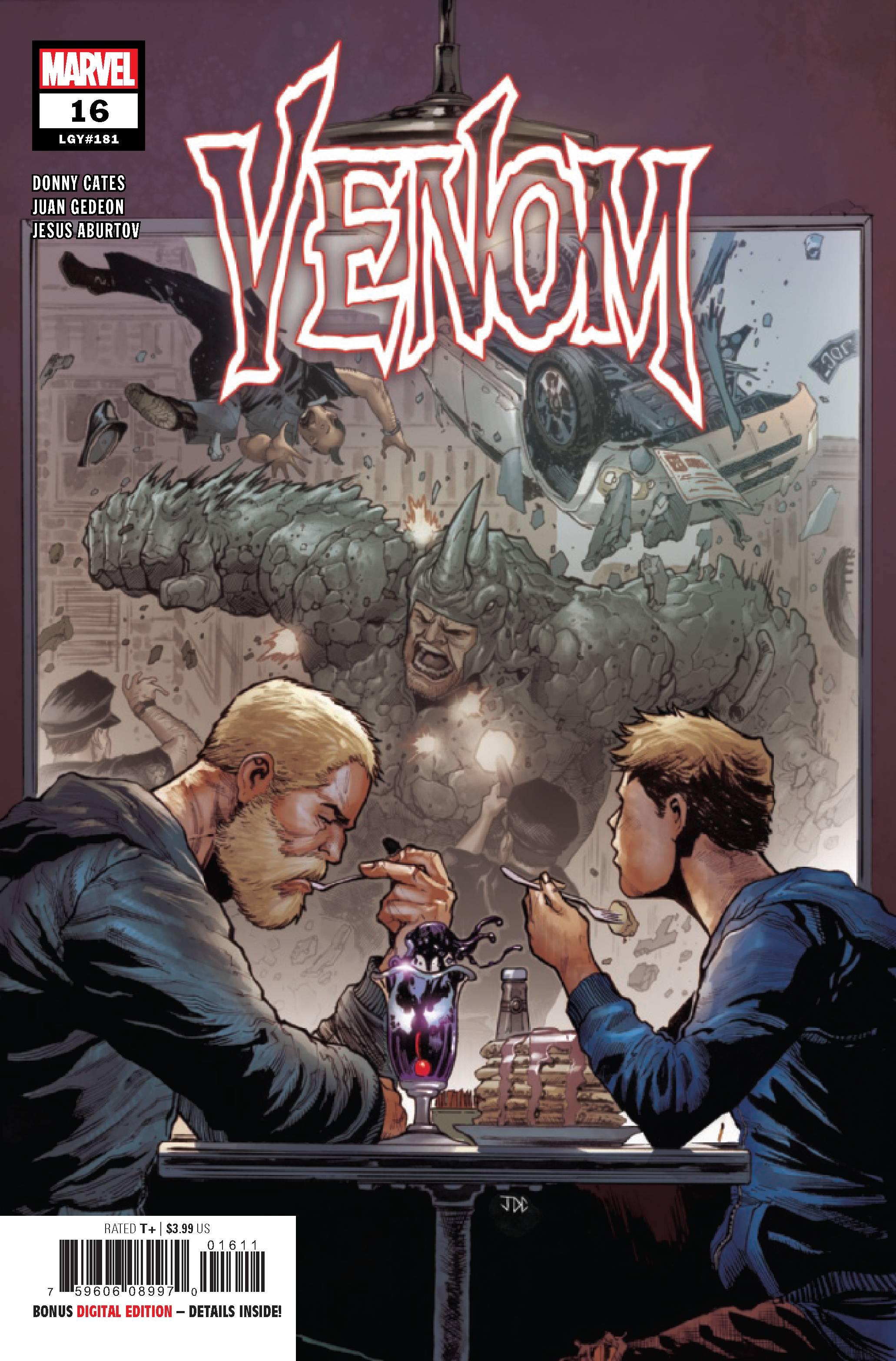 Venom #16 Main Cover Donny Cates Marvel comic 1st Print 2019 NM