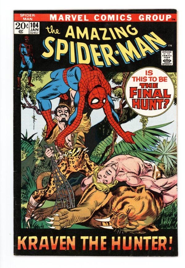 Amazing Spider-Man #104 FN-