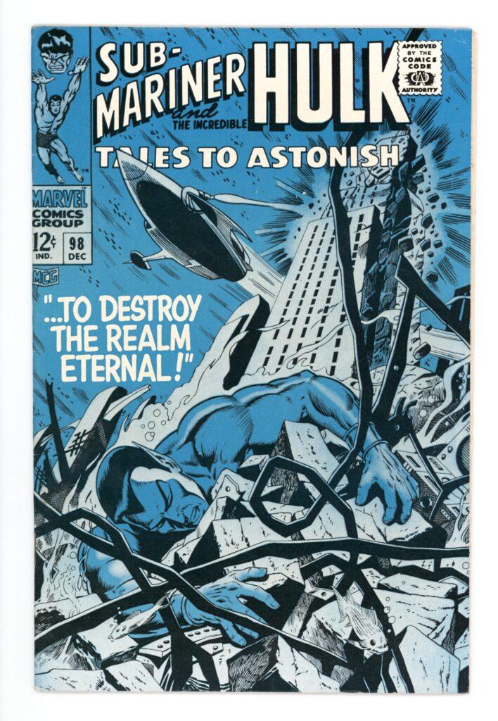 Tales To Astonish #98 VF-