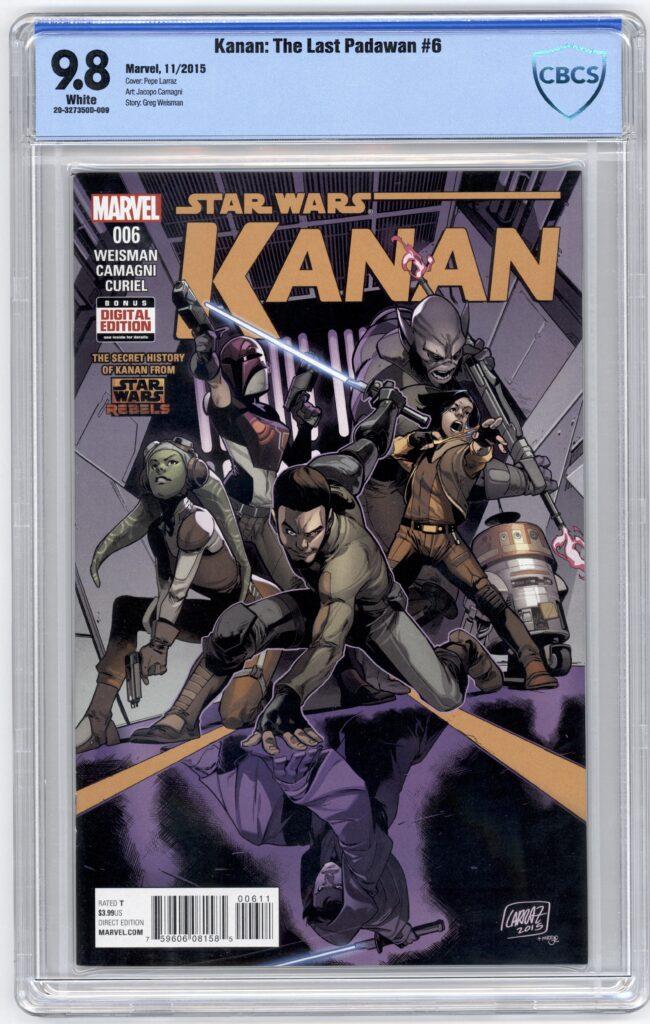 Kanan the Last Padawan comic