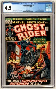Origin and 1st appearance of Ghost Rider