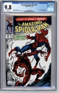 Amazing Spider-Man #361 CGC 9.8 1st Appearance of Carnage