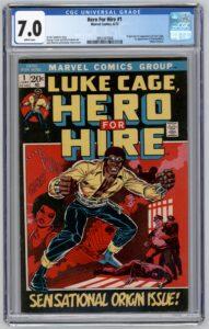 Hero For Hire comic
