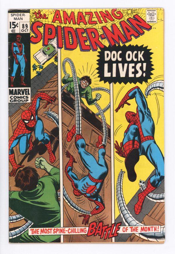 Amazing Spider-Man #89 VG+